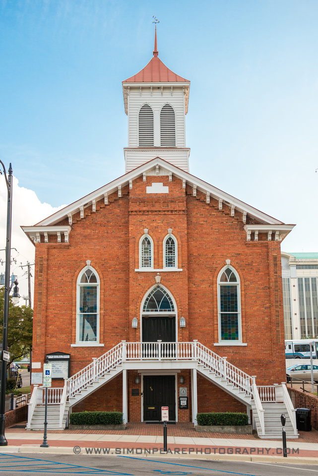 Fine Art Photograph and Print of the Dexter Avenue, Baptist Church, Montgomery Alabama
