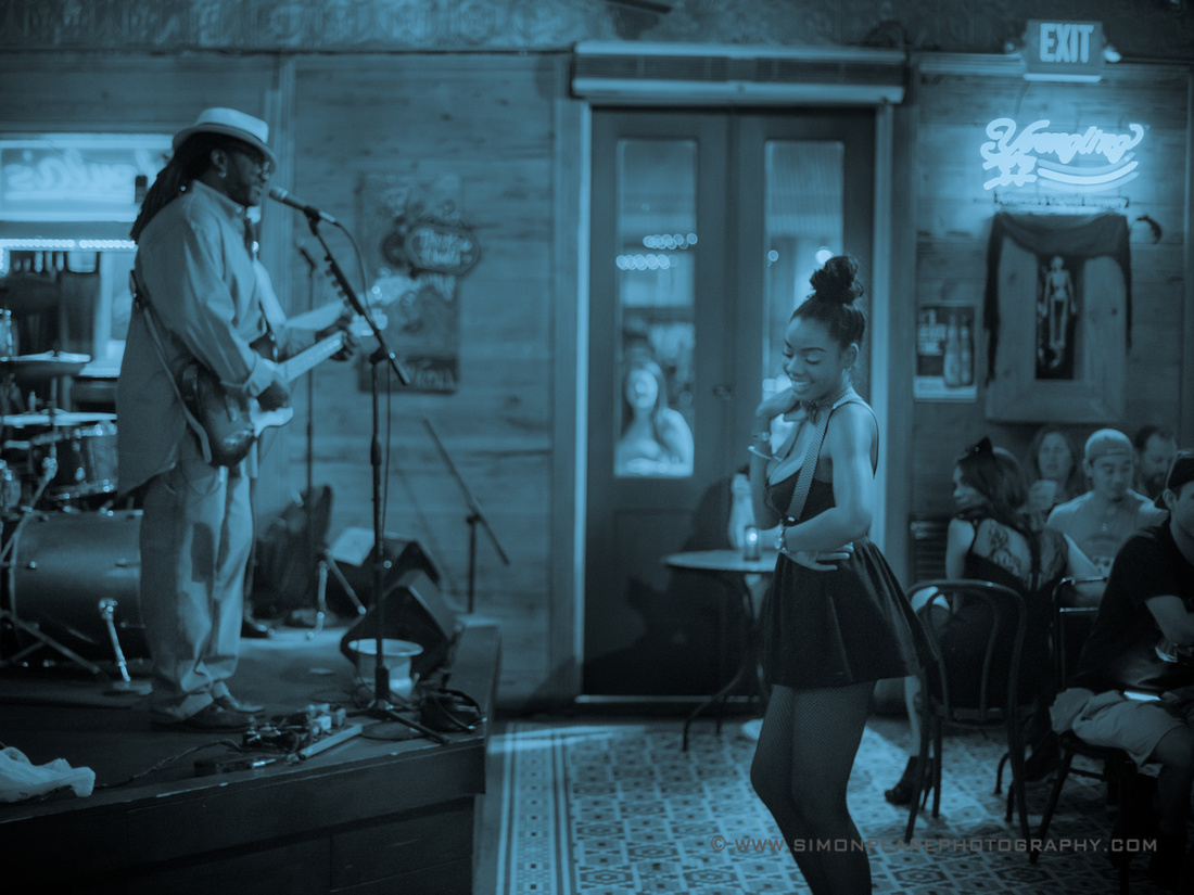 Fine Art Photograph and Print of Singing and Dancing the Blues in New Orleans