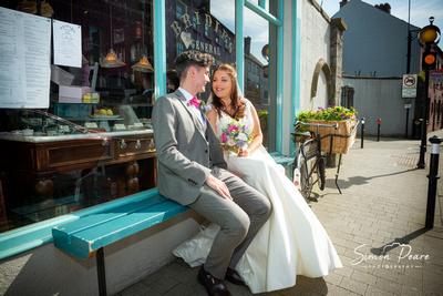 Wedding Photographer Testimonial, Hannah and Karl, Langton's Kilkenny
