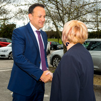 Taoiseach Leo Varadkar  Blakestown Community School, Dublin 15.
