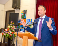 Taoiseach Leo Varadkar, Blakestown Community School, Dublin 15.