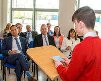 Taoiseach Leo Varadkar's visit to Luttrellstown Community Colleg