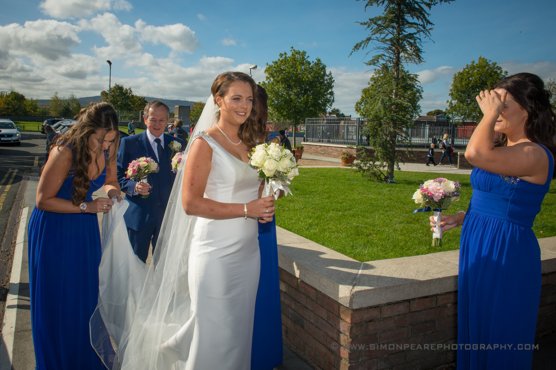 Wedding Photographs, Killiney Castle, Dublin - Andrea and Michael