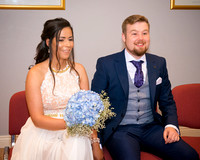 Sean and Marciéle Wedding Photographs, Naas Registry Office & The Japanese Gardens