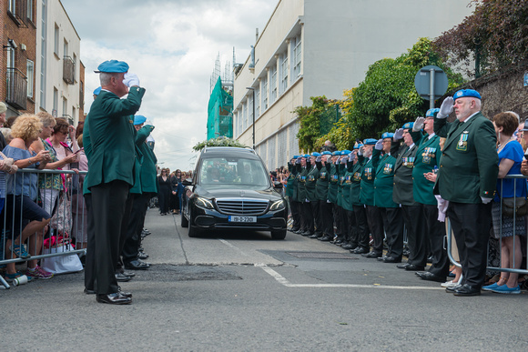 Brendan Grace's Funeral The Liberties Dublin
