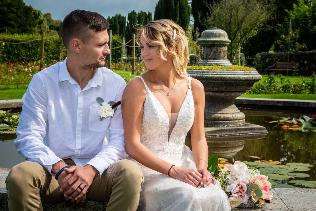Wedding Couple Portraits During Covid 19. Micro Wedding Photography Package During Covid 19