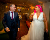 Niamh and Aaron Wedding Photographs Angler's Rest, Chapelizod