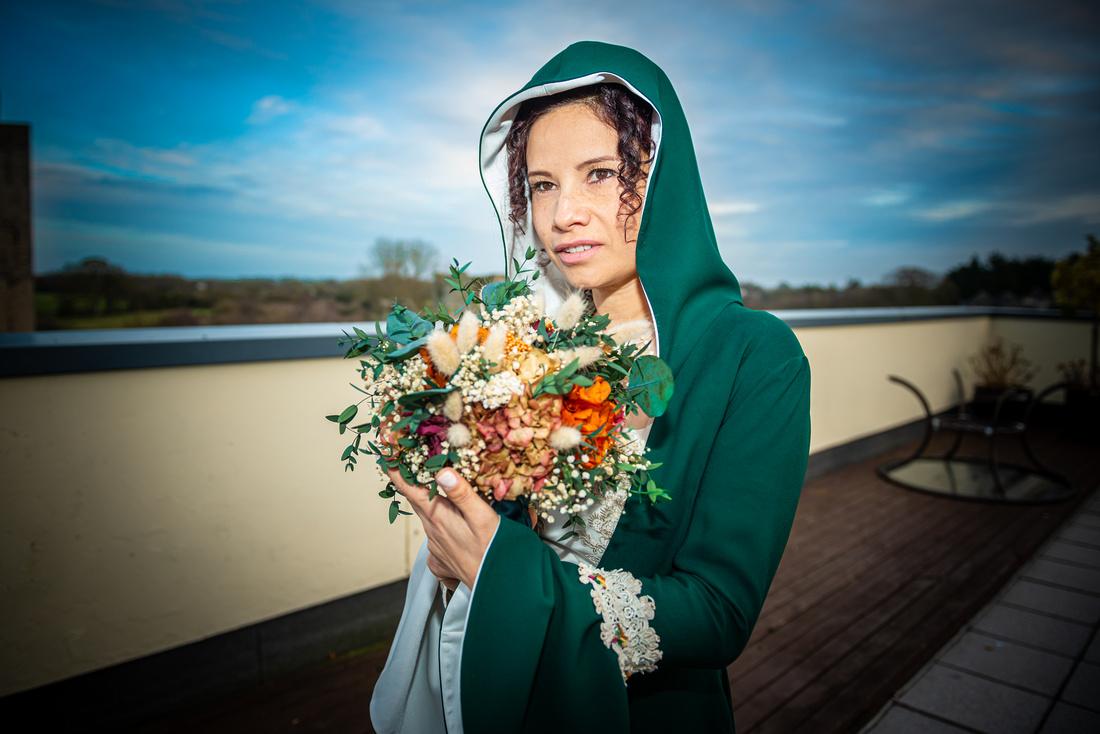 Stunning Bride Portraits. Wedding Venue: Slane Castle, Co Meath. Reception: Trim Castle.