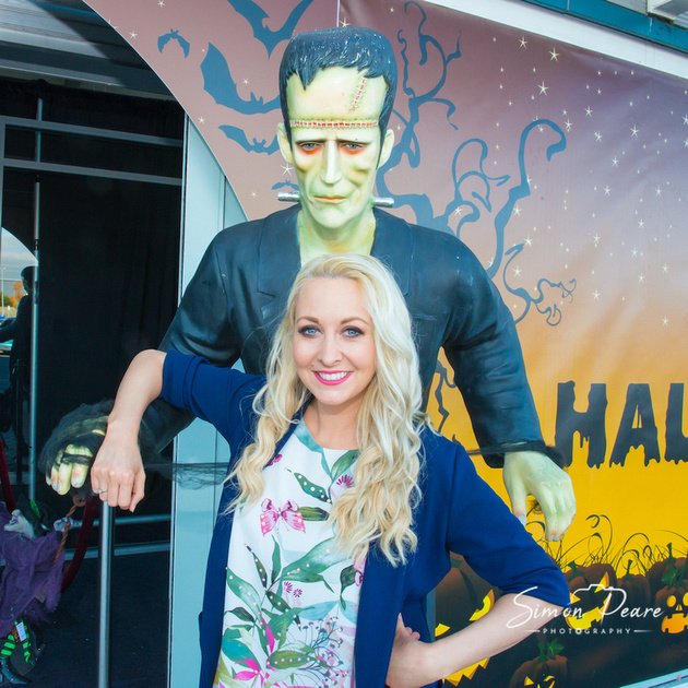 Liffey Valley Retail Park Halloween Fun House with RTE's Emma O'Driscoll. Saturday  Event Photography www.simonpearephotography.com