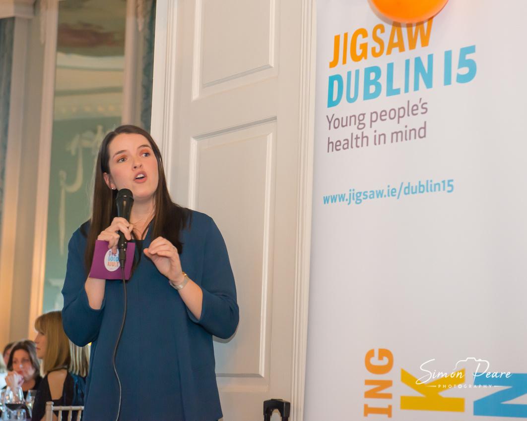 Aoife Clerkin. Mount Sackville School Fundraiser for Jigsaw. Luttrelstown Castle, Dublin 15. Event Photographer Simon Peare