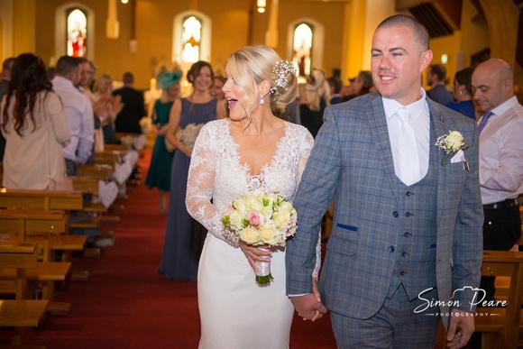 Emear and Steven Wedding Photos. Wedding Venue: Finnstown House, Lucan. Wedding. Wedding Photography: www.simonpearephotography.com