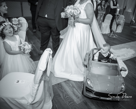 Niamh and Matthew Wedding Photos Curracloe Hotel Wexford. Not everything goes to plan