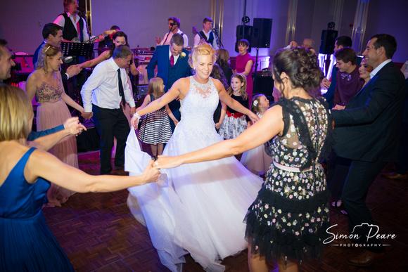 Iveta and Kieron Wedding Photos Trim Castle Dancing the night away
