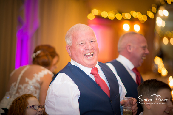 Suzanne and Paul Wedding Photographs. Wedding Venue Glenview Hotel