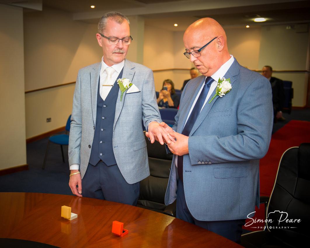 Dublin Registry Office Wedding Photography. Same Sex LGBT Weddings
