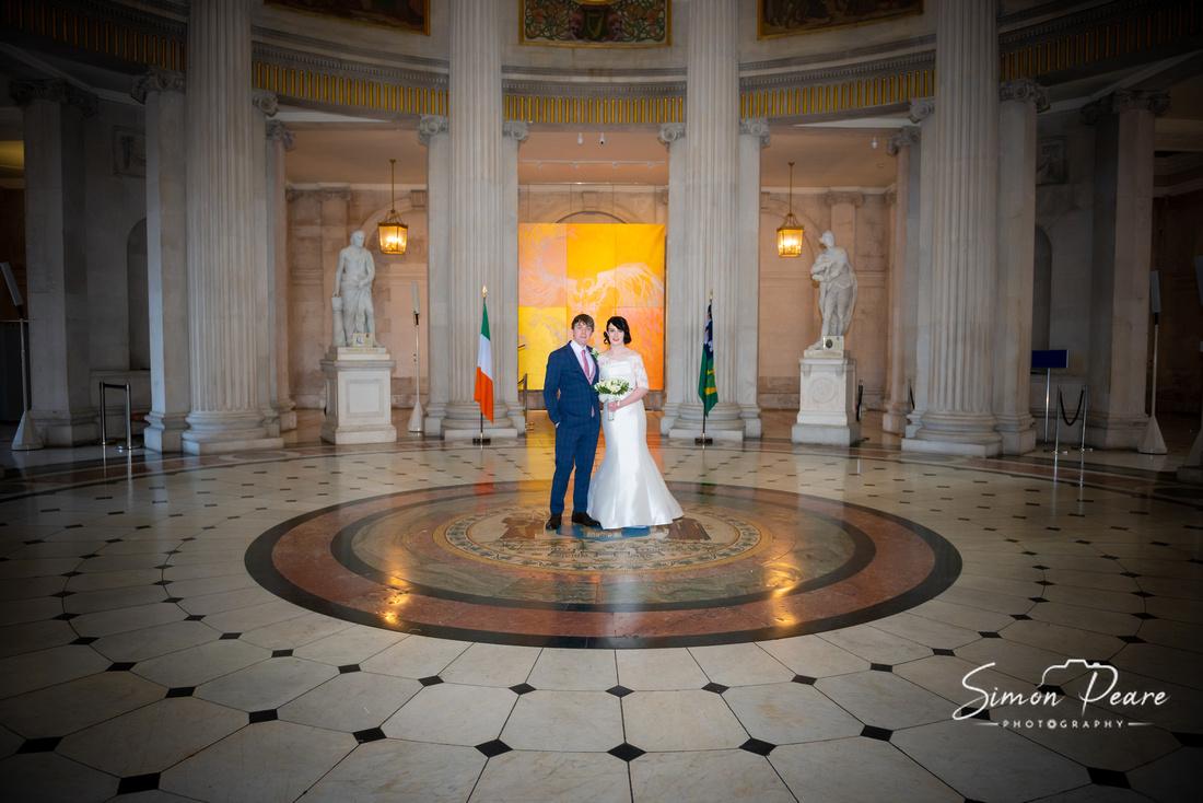 Getting Married In Dublin's City Hall. Dublin City Centre Weddings