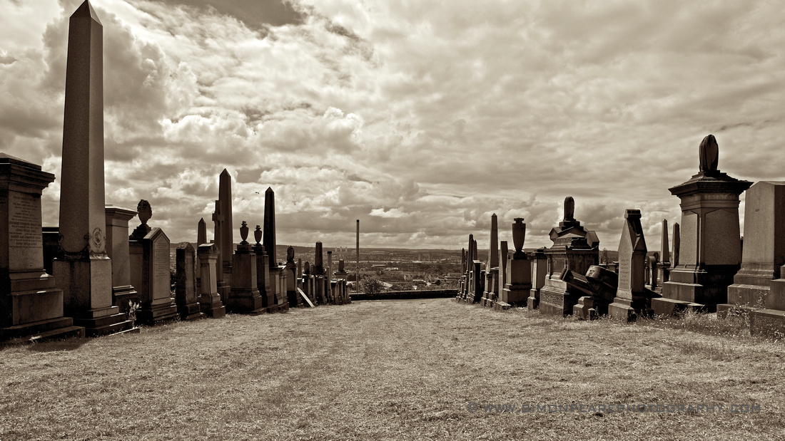 Fine Art Photograph and Print of The Necropolis, Glasgow, Scotland