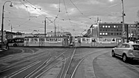 Fine Art Photograph and Print of Trams in Gothenburg, Sweden