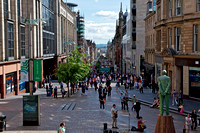 Fine Art Photograph and Print of Buchanan Street, Glasgow, Scotland