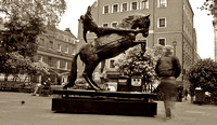Fine Art Photograph and Print of Sitting in Soho Square