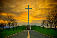 Fine Art Photograph and Print of The Papal Cross, Phoenix Park