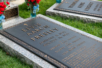 Fine Art Photograph and Print of Elvis Presley's Grave at Graceland Memphis Tennessee by Dublin Photographer Simon Peare