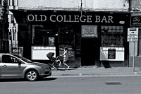 Fine Art Photograph and Print of College Bar, Glasgow Scotland