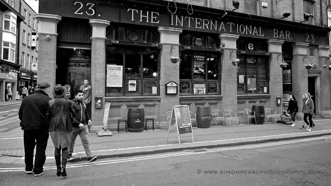 Fine Art Photograph and Print of The International Bar, Dublin Pub, Ireland For Sale