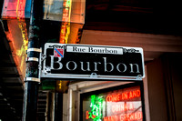 Fine Art Photograph and Print of Bourbon St., New Orleans