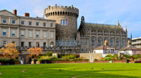 Fine Art Photograph and Print of Dublin Castle, Ireland For Sale