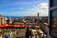 Fine Art Photograph and Print of aHotel Room View of Havana, Cuba by Dublin Photographer Simon Peare